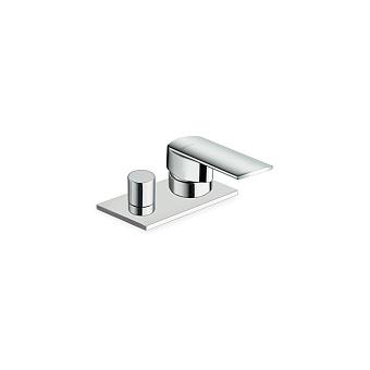 Cristina Profilo Смеситель для ванны с переключателем на 2 выхода, цвет: хром