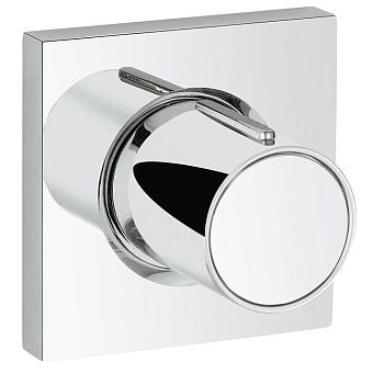 Grohe Grohtherm F Комплект верхней монтажной части для вентиля на один выход, цвет: хром