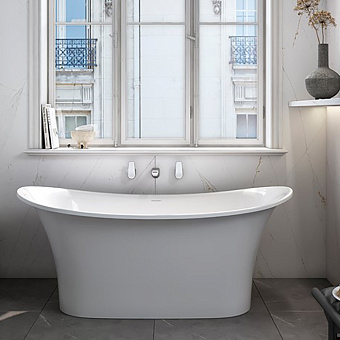 Victoria+Albert Toulouse Ванна 151.9х74.4х64.5см., отдельностоящая, цвет: белый