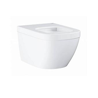 Grohe Euro Ceramic Унитаз 54x37 см, подвесной, слив в стену, цвет: белый