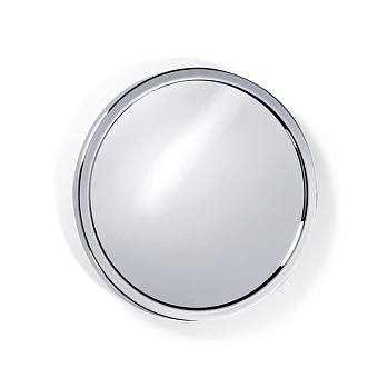 Decor Walther SPT 2 Косметическое зеркало 19см, магнитное, подвесное, увел. 5x, цвет: хром