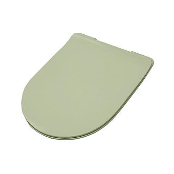 Artceram FILE 2.0 Сиденье для унитаза, супер тонкое, быстросьемное с микролифтом, цвет: Green Salvia
