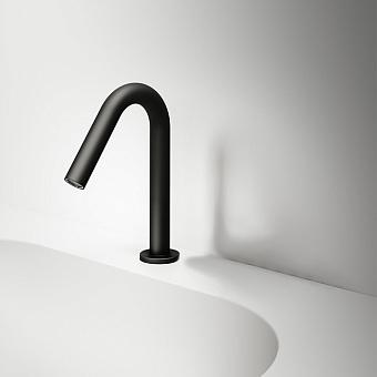 Falper Acquifero Излив для раковины, 25 см, цвет: черный матовый