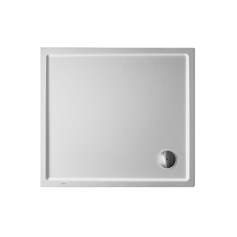 Duravit Starck Slimline Поддон акриловый 100x90см, опоры, выпуск, цвет белый