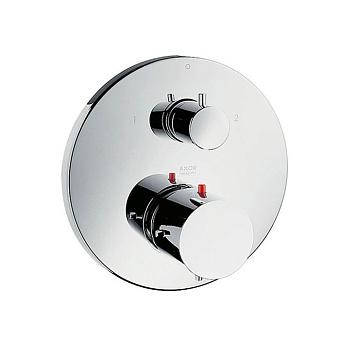 Axor Starck Термостат с запорным/переключающим вентилем, СМ, цвет: хром