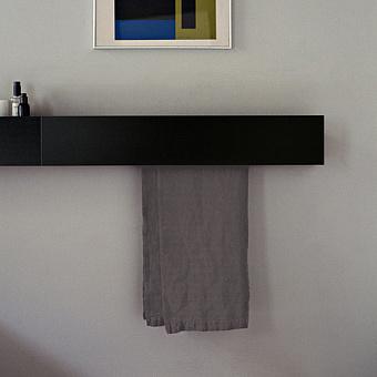 Agape Sen Полотенцедержатель, 80см, цвет: черный