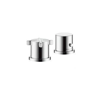 AXOR Citterio E, Термостат на край ванны, на 2 отверстия, Цвет: хром