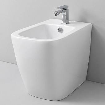 Artceram A16 Биде напольное 36х52 см, 1 отверстие, цвет: матовый  белый