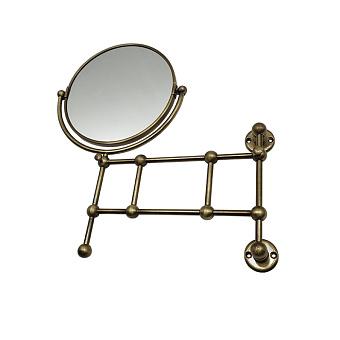Devon&Devon First Class Косметическое зеркало поворотное с 2х кратным увеличением с одной стороны, цвет: бронза