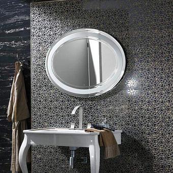 Noken Imagine Зеркало овальное, 100x70 см, цвет: белый
