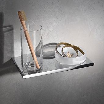 Keuco Edition 400   Двойной держатель стакана и чаши для мелочей, хром