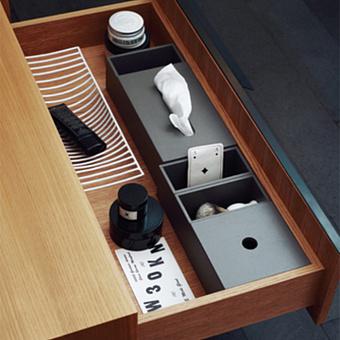 Agape Puzzle Крышка для большой коробки 15.2x14.2 см, цвет: серый