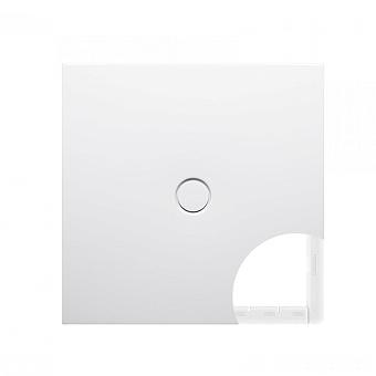 BETTE FLOOR Душевой поддон квадратный 90х90 см, с полистироловой опорой EPS, с отв-м слива d=90мм, с шумоизоляцией, цвет: белый