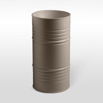 Kerasan Artwork Barrel Раковина 45х90 см, без отв., напольная, слив в пол, в комплекте сифон, цвет: