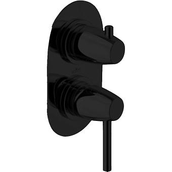 Webert Opera Moderna Встраиваемый смеситель для ванны, цвет: черный