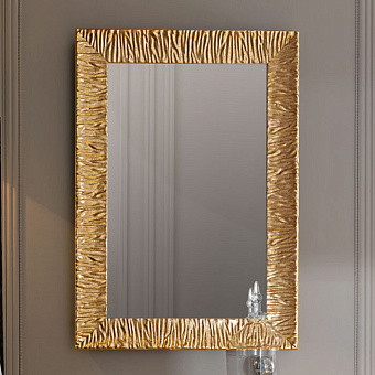 KERASAN Retro Зеркало Specchiera 70x100см, цвет золото