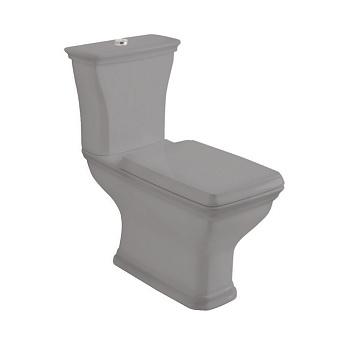 Artceram Civitas Унитаз моноблок 36x54 см, слив универсальный, цвет: серый