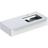 Geberit myDay Тумба с раковиной, 115х20х54.5см, без отв., подвесная, с одним выдвижным ящиком, цвет: белый