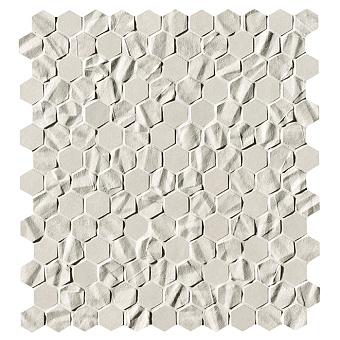 Fap Bloom Керамическая плитка 30,5x30,5см., для ванной, настенная, мозаика, цвет: star esagono white