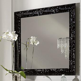 KERASAN Retro Зеркало 100x100см, цвет: черный