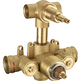 CISAL Встраиваемая часть термостатического смесителя с переключателем на 2 положения, ZA01910004