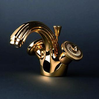 Cristal et Bronze Bonroche Смеситель для раковины, цвет золото 24 к.