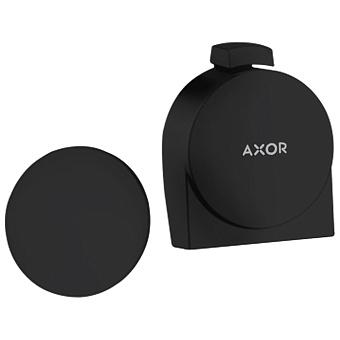Axor Внешняя часть набора слив-налив-перелив, цвет: черный матовый