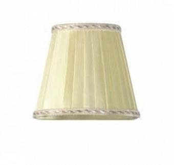 TW 14, абажур для светильника E14, цвет ткани: ваниль с кантом