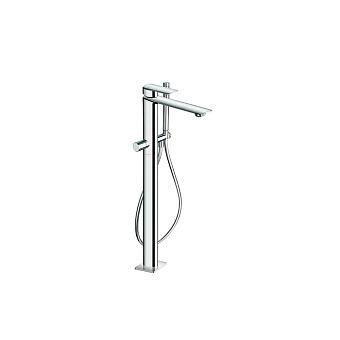 Cristina Profilo Смеситель для ванны с ручным душем, напольный, цвет: хром