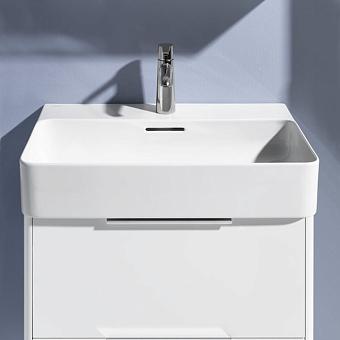 Laufen VAL Раковина 600х420х115мм с 1 отв. под смеситель, с покр. LLC, цвет: белый