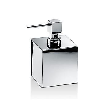 Decor Walther Cube DW 475 Дозатор для мыла, настольный, цвет: хром