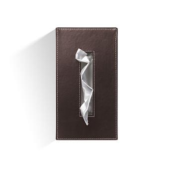 Decor Walther Brownie KB40 Диспенсер для салфеток 24x12x8см, цвет: темно-коричневая кожа