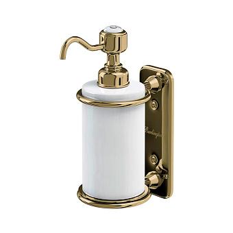 Burlington Gold Дозатор для жидкого мыла, подвесной, цвет: золото