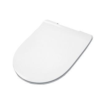 Artceram FILE 2.0 Сиденье для унитаза, супер тонкое, быстросьемное с микролифтом , цвет белый матовый