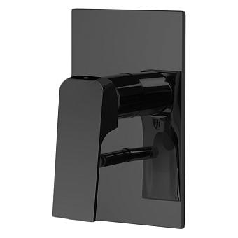 Carlo Frattini Fit Смеситель для душа, на 2 источника, встраиваемый, цвет: черный матовый