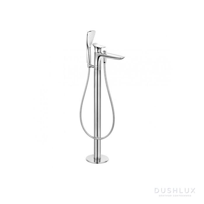 Kludi Ambienta Смеситель для ванны, напольный, цвет: хром