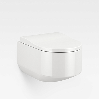 Armani Roca Baia Унитаз подвесной 56x38x30см безободковый, цвет: белый