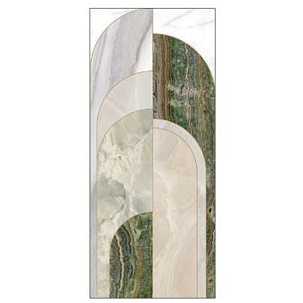Ornamenta Operae Керамическая плитка 120х278см, настенная, декор: Beauty Green