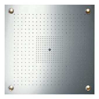Axor ShowerCollection Верхний душ ShowerHeaven 970x970 мм, сподсветкой, ¾', цвет: нерж.сталь