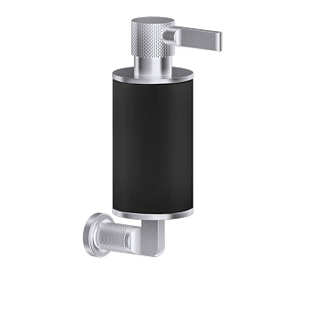 Gessi Inciso Дозатор для жидкого мыла настенный, цвет: черный/finox