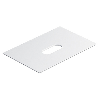 Catalano Horizon Столешница керамическая 75х25хh11см, подвесная/накладная, цвет: белый матовый
