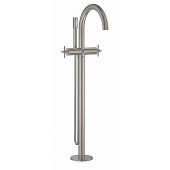 Grohe Atrio New  Внешняя часть смесителя для ванны, свободностоящий, цвет: сталь