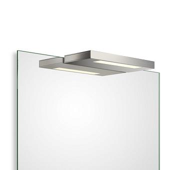 Decor Walther Slim 1-24 N LED Светильник на зеркало 24x10x2см, светодиодный, 1x LED 8W, цвет: никель сатинированный