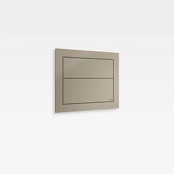 Armani Roca Island Сенсорная встраиваемая система двойного смыва 3/6 л. 250х41,5х250мм, цвет: greige