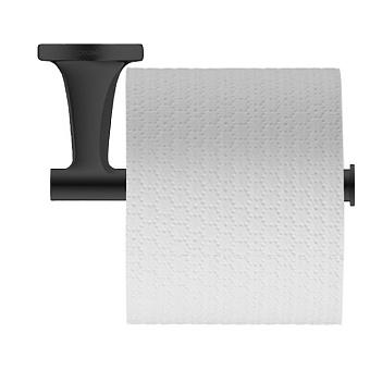 Duravit Starck T Держатель туалетной бумаги, подвесной, цвет: черный матовый