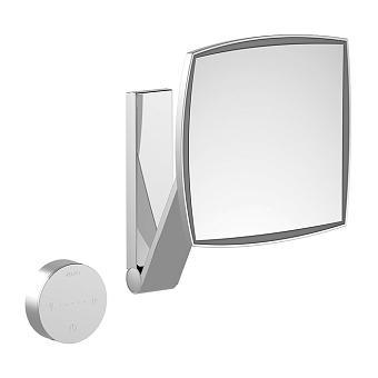 Keuco Kosmetikspiegel Косметическое зеркало с подсветкой, цвет: хром