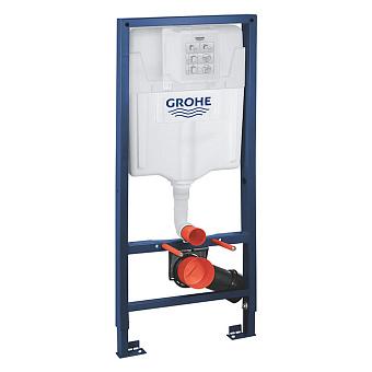 Grohe Rapid SL Инсталляция для подвесного унитаза, монтажная высота 1.13 м, цвет: хром