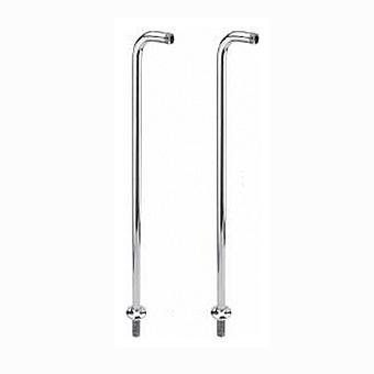 Nicolazzi Complementi Ножки напольного смесителя для ванны, хром
