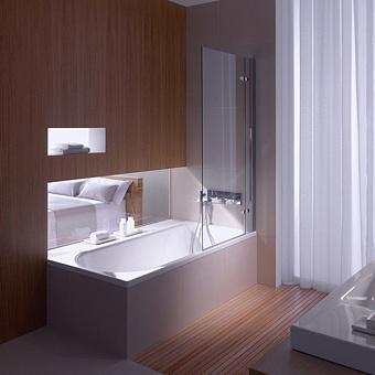 BETTE Ocean Ванна 170х80х45 см, с шумоизоляцией, перелив сзади, BetteGlasur® Plus, антислип, с комплектом ножек, цвет: белый
