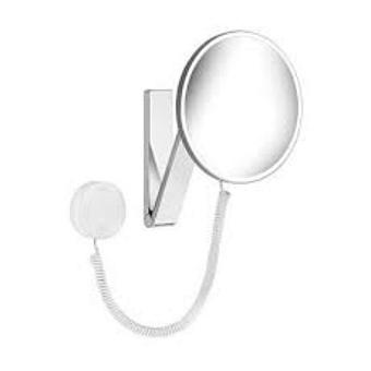 Keuco iLook_move Косметическое зеркало круглое с 2 подсветками и сенсорной панелью
